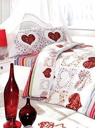 Colors Couture Bettdecke und Kissenbezug Simona