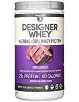 Designer Whey Premium Whey Protein Powder, Double Chocolate, 32 Ounce