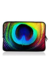 "Peacock Feathers 7"" 7.2"" 7.7"" 7.9"" 8"" inch Touch Screen Tablet Case Sleeve Pouch Bag for Apple iPad mini Retina Display/Apple iPad Mini 2/ASUS MeMO Pad/Google Nexus 7/iView TV Pad/SupraPad/Acer Iconia One/LG G Pad/Ematic Touchscreen Tablet/HP Stream 7 /SAMSUNG Galaxy Tab 3/Trekstor Xiron 7/Ematic FunTab Kid Mode/DELL Venue 7"