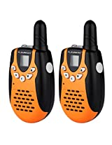 Floureon 22 Channel Walkie Talkies Uhf462 467 M Hz 3 5km Range 2 Way Radio With Built In Led Torch For Outdoor Sport Hiking Activities (One Pair 2 Packs)