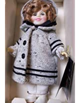 """1983 Ideal Shirley Temple Doll 8"""" Dimples In Coat"""