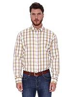 Spagnolo Camisa Rodas (Blanco / Amarillo)
