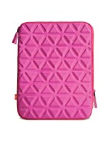 iLuv Belgique (iCC2011) Foam-padded sleeve for all iPads and most 10-Inch tablets- Pink
