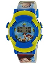 Disney Digital Multi-Color Dial Boys's Watch - TP-1108 (Light Blue)