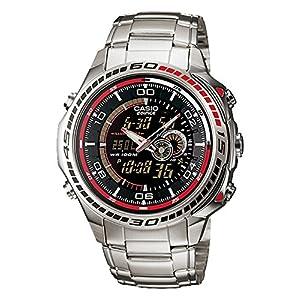Casio Edifice Stopwatch Analog-Digital Black Dial Men's Watch - EFA-121D-1AVDR (ED263)