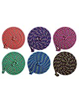 1 Valueble Confetti Jump Rope 8' By Just Jump It, Colors vary