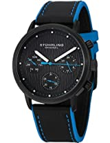Stuhrling Original Octane Analog Black Dial Men's Watch - 514.03