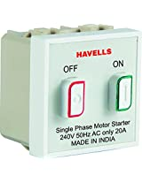 Havells Coral 20A Motor Starter Switch