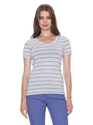 Jackpot T-Shirt Kianas (Azzurro/Rosa)