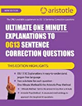 Ultimate One Minute Explanations to Og13 SC
