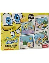 Funskool Sponge Bob 4-in-1 Puzzle