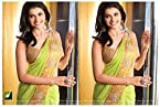 Prachi Desai Georgette Embroidered Green Bollywood Style Saree - VD-BOLLY-REPLICA-49TM