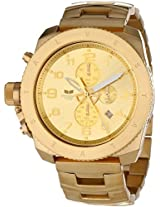 Vestal Unisex Res009 Restrictor All Gold Watch - Res009