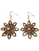 Designer's Collection Paper Quilling Ear Rings for Women-DSERB021
