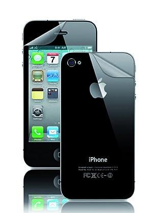 Blautel iPhone Protector de pantalla Twin