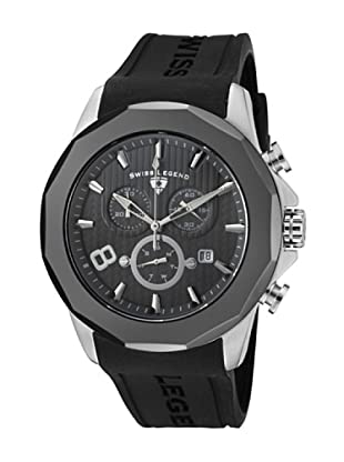 Swiss Legend Reloj Monte Carlo Negro