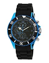 Maxima Hybrid Collection Analog Black Dial Men's Watch - 31280PPGN