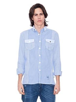 Gio Goi Camisa Sogood (azul / blanco)