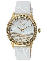 Aspen Analog White Dial Women's Watch - AP1810