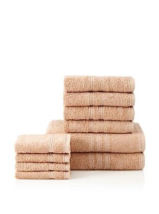 Chortex Imperial 10-Piece Bath Towel Set, Beige
