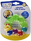 Baby Einstein Rattle and Teether Caterpillar (Colors May Vary)
