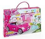 Mega Bloks Barbie Build 'n Style Convertible, Multi Color