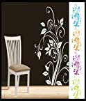 Decals - myRitzy Corner Floral Living Room Wall Decal