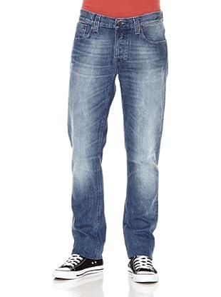 Nudie Jeans Pantalón Grim Tim (Azul claro)