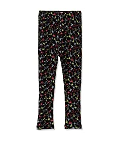 A for Apple Ren Leggings with Frog Print (Black)