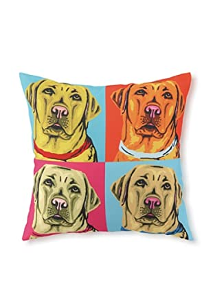 Woofhol Lab Pillow