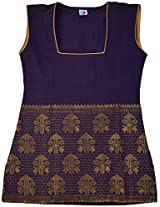 H2A2 top made of Hand woven karbi traditional material