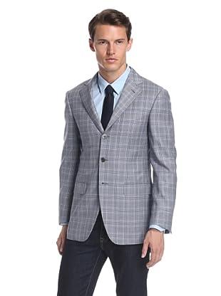 Nikky Men's Hand-Made Soft Shoulder Sport Jacket (Blue)