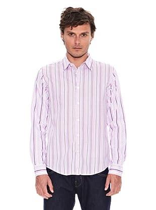 Desigual Camisa Felix (Blanco / Rosa)