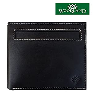 Woodland W-109 Men's Wallet - Black