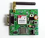 ELEMENTZ SIM900A GSM MODEM MODULE with SMA ANTENNA - CALL SMS GPRS facility - MIC input, LINE input & SPEAKER output pins - RS232, TTL & I2C Communication