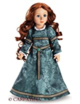 Rowena - Celtic Princess 18 inch Vinyl Slim Doll