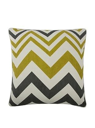 Thomas Paul Zig-Zag Feather Pillow (Ochre)