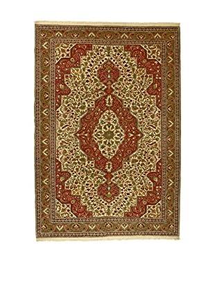 L'Eden del Tappeto Teppich V.Kayseri rot/lehmbraun 300t x t200 cm