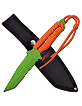 "MTech USA MT-20-52OG FIXED BLADE KNIFE 10.5"" OVERALL"