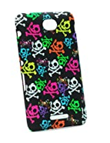 Fonokase Case for Sony Xperia E4 E 4 Halloween Hard Back + Screen Guard