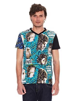 Desigual Camiseta Efem Rep (Negro)