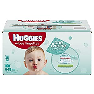 Huggies 5647 Refreshing Baby Wipes Refill
