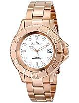 Lucien Piccard Men's LP-12668-RG-22 Walen Analog Display Swiss Quartz Rose Gold Watch