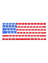 HDE Silicone Rubber Keyboard Skin for MacBook Pro (Non-Retina) (American Flag)
