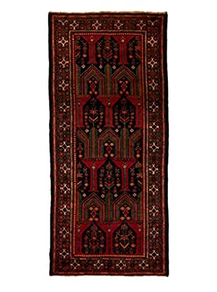 Tribal Collection Oriental Rug, Black, 4' 3