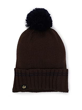 Goorin Brothers Men's Pom Pom Beanie (Brown)