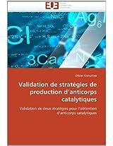 Validation de Strategies de Production D Anticorps Catalytiques (Omn.Univ.Europ.)