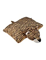 Soft Buddies Folding Tiger, Multi Color