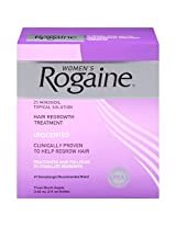 Rogaine for Women Hair Regrowth Treatment, 60ml (Pack of 3)