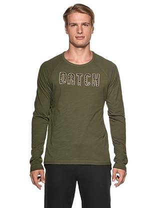 Datch Camiseta Manga Larga (Verde Militar)